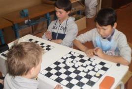 шахматно-шашечный  турнир на приз «Новогодней ёлки»